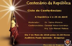 Centenário da República em Bragança